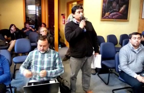 Daniel Caniullán Comision Uso Borde Costero Nota