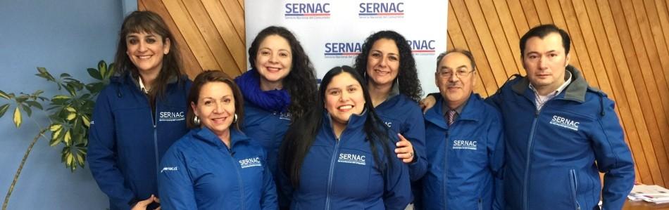 Equipo Regional Sernac Slide