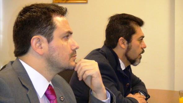 Marcelo Marcos y Pedro Salgado