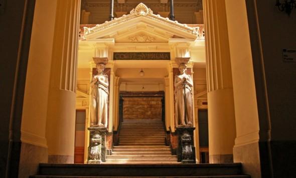 interior de tribunales Corte Suprema