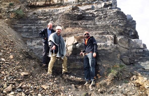 Expertos de los servicios geológicos de Australia y de Chile conocen la composición geológica de la zona