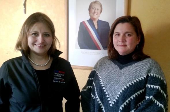 Gabriela Retamal y Lorena Soza
