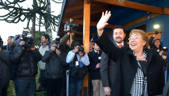 Bachelet en GORE Aysén
