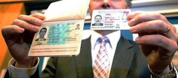 Cedula y Pasaporte
