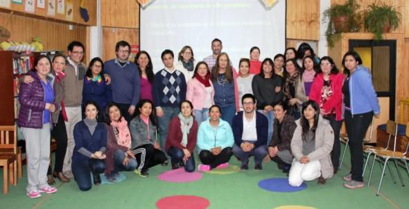 Colegio El Camino perfeccionamiento docente