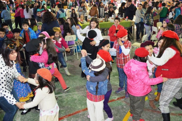 Mateada Colegio EL Camino 4