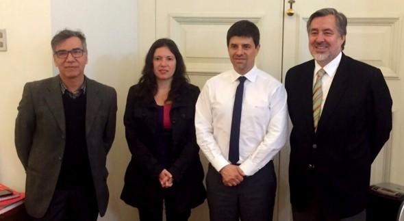 Patricio Martínez, Javiera Olivares, Marcelo Díaz, Alejandro Guillier Nota