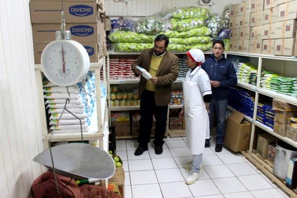 Programa Alimentacion Escolar JUNAEB AYSEN 2