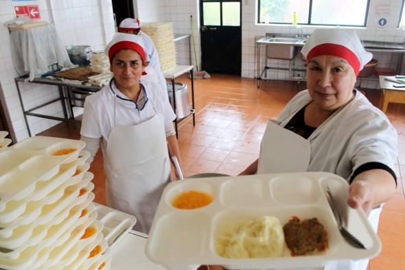 Programa Alimentacion Escolar JUNAEB AYSEN