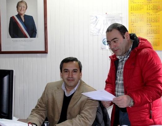 Jorge Abello y Carlos Campos