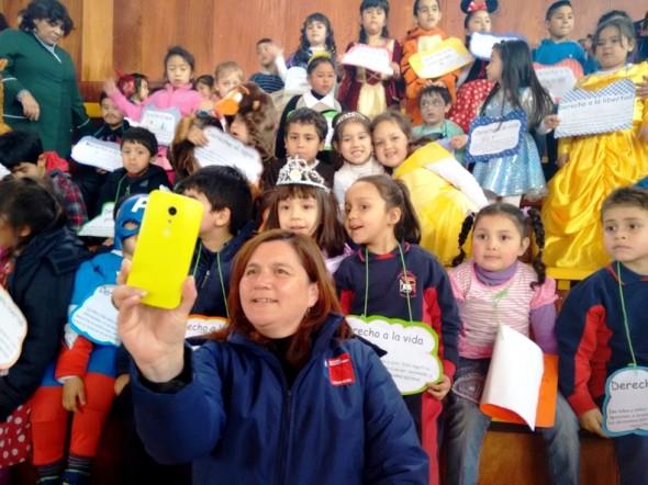 Marcha derechos Infancia Sename 2