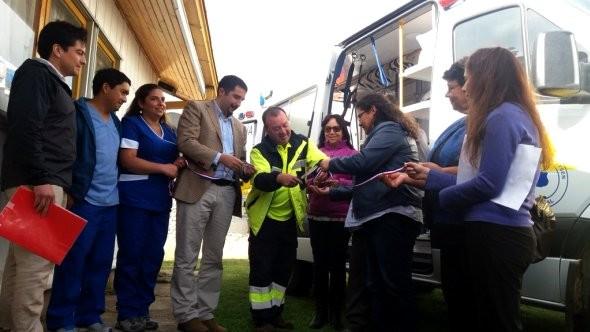Ambulancia lago verde