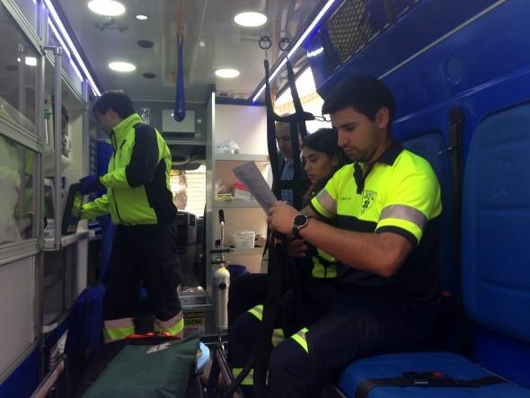 Ambulancia SAMU..