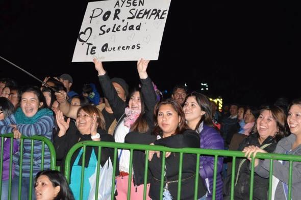 Publico Puerto Aysén.
