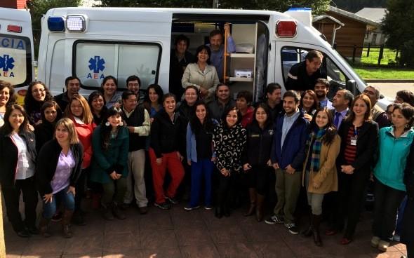 Ambulancia en Puerto Cisnes