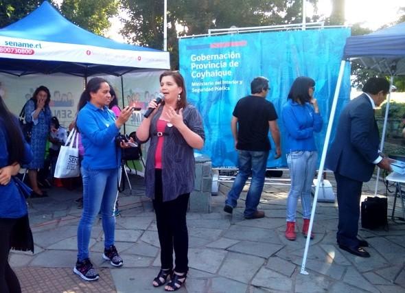 Gobierno Presente en Plaza de Armas de Coyhaique