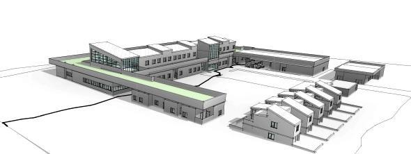 Hospital de Chile Chico.