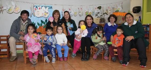 Junji inició el funcionamiento de extensión horaria en sus jardines infantiles