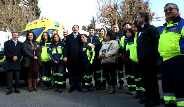 Entrega Ambulancia Coyhaique