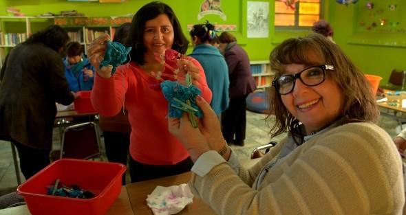 Profesores pueden experimentar la creatividad con Cursos Colorearte