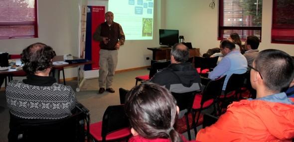 Seremi de Energía lideró encuentro sobre desarrollo hidroeléctrico en Aysén