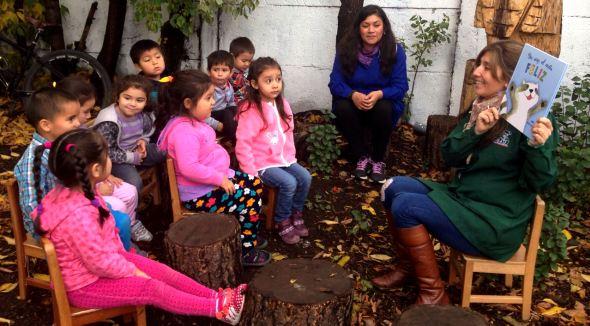 Dentro de su patio de juegos jard n infantil arcoiris for Postulacion jardin junji 2016
