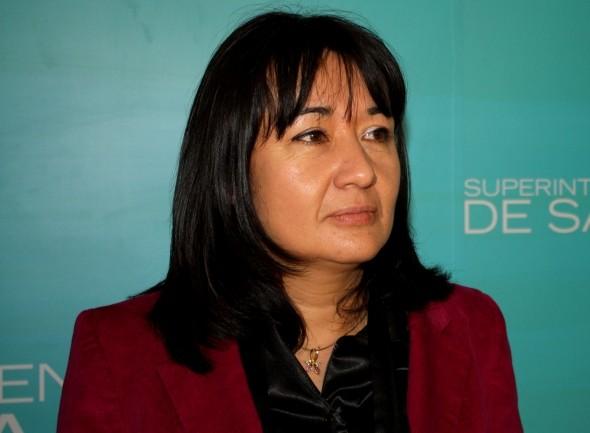 Agente Regional de la Superintendencia de Salud, Elizabeth Vergara