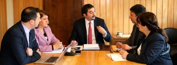 Autoridades evaluaron situación hídrica y trabajo de inversión territorial