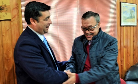 Firma Convenio Municipalidades.