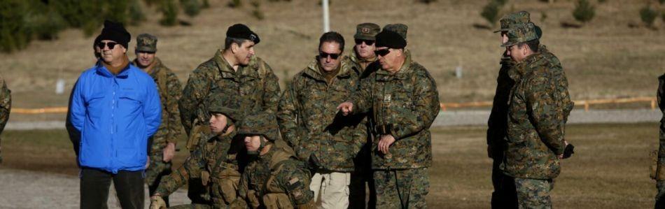 Ministro de Defensa inspeccionó capacidades y operatividad de la IV División del Ejército