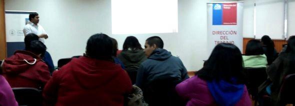 Organizaciones sindicales de Coyhaique se capacitan en normativas remuneratorias sector educacional