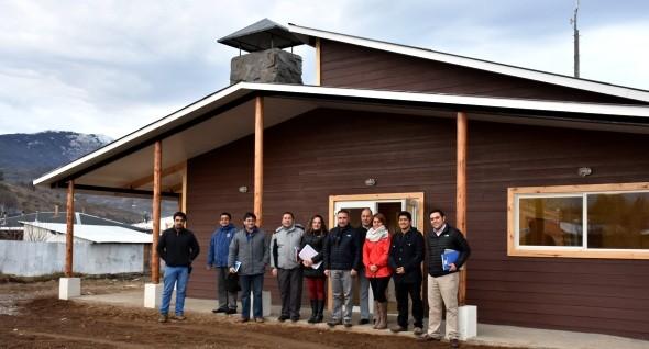 Concejo municipal de Cochrane  realizó visita a 2 nuevas obras comunales