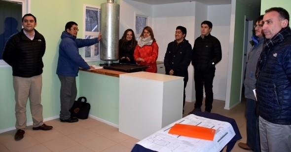 Concejo municipal de Cochrane  realizó visita a 2 nuevas obras comunales.