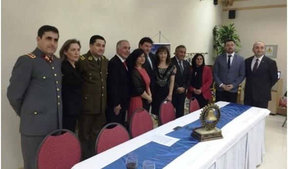 cambio de mando Rotary Club Coyhaique