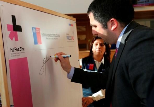 Región de Aysén se une a campaña He For She.
