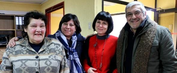 Sociedad Civil de Aysén reconoce labor de rectora Roxana Pey Tumanoff