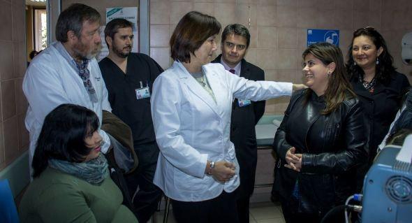 Ministra de Salud valoró avances del Hospital Regional Coyhaique.