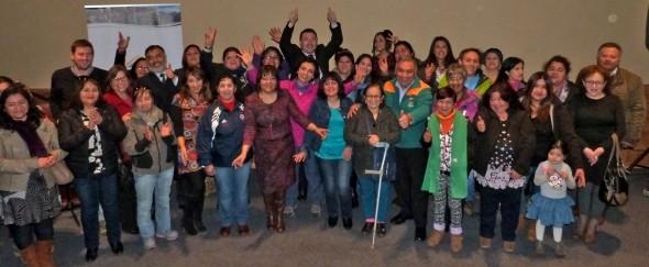 Mujeres Jefas de Hogar participan en Encuentro Comunal en Coyhaique